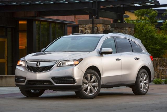 Photo of Acura MDX courtesy of Honda.
