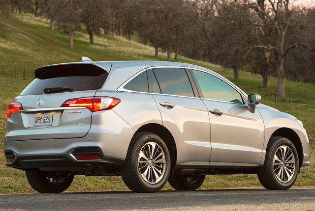 Photo of 2018 Acura RDX courtesy of Honda.