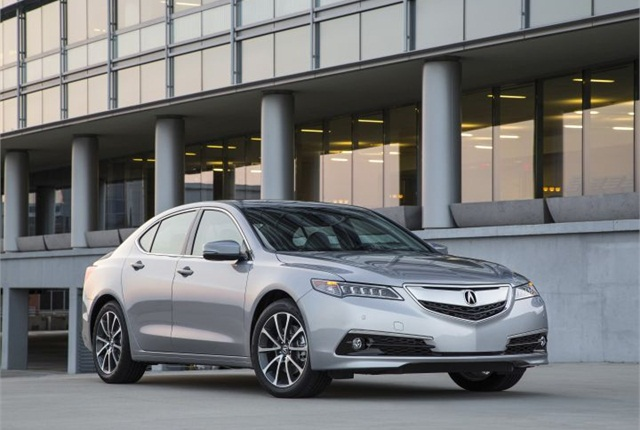 Photo of 2015 TLX 3.5L with AWD courtesy of Acura.
