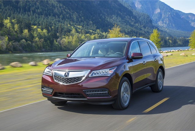 Photo of Acura MDX courtesy of Honda.