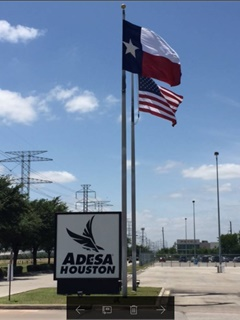 Photo of ADESA Houston courtesy of KAR Auction Services.