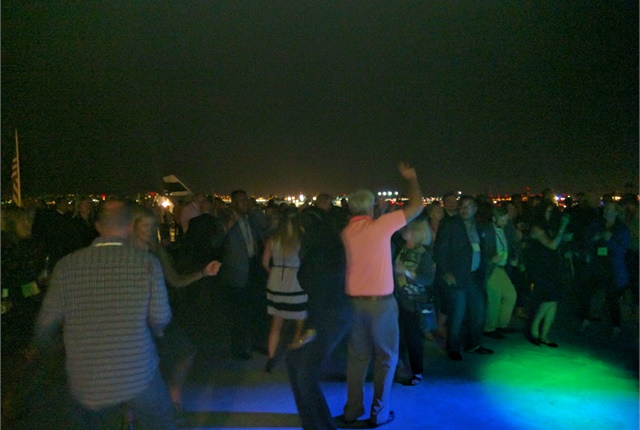 Attendees were entertained Monday evening on a dinner cruise of San Diego harbor. Photo courtesy of AFLA.