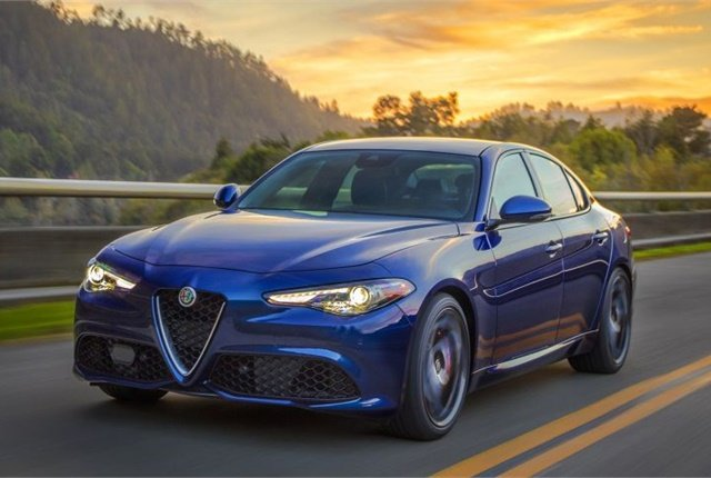 Photo of 2017 Alfa Romeo Giulia courtesy of FCA.