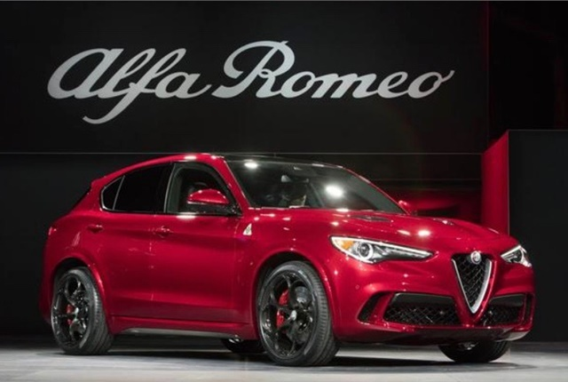 Photo of Alfa Romeo Stelvio courtesy of FCA.