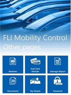 Fleet Logistics Mobility Control App tells users information from alerts to mileage.Photo: Fleet Logistics