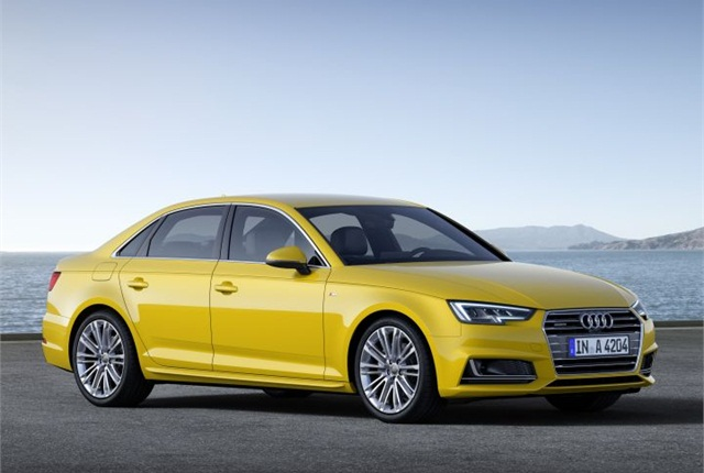 Photo of 2017 A4 courtesy of Audi.