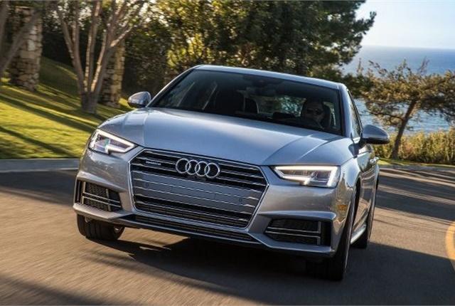 Photo of 2017 A4 Ultra courtesy of Audi.
