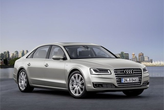 Photo of 2015 A8 courtesy of Audi.