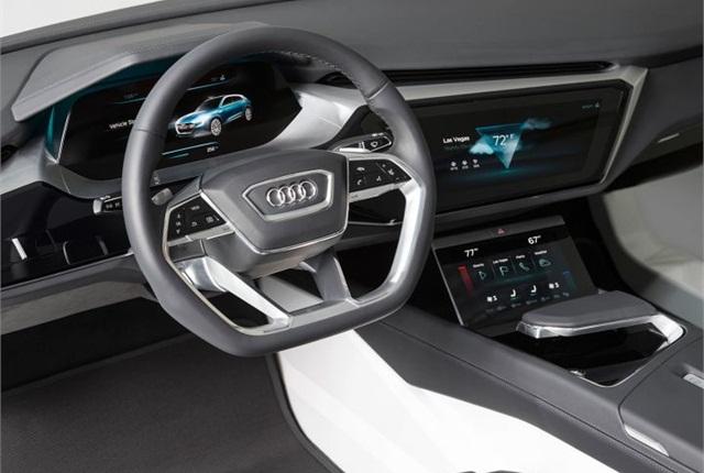 Photo of E-tron Quattro concept courtesy of Audi.