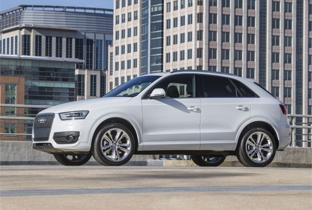 Photo of 2015 Q3 courtesy of Audi.