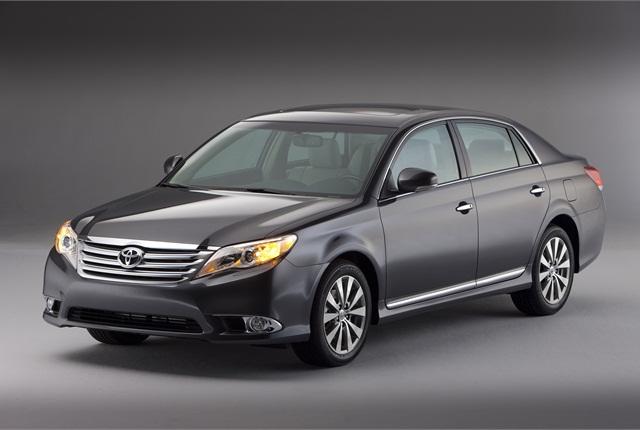 Photo of Toyota Avalon courtesy of Toyota.