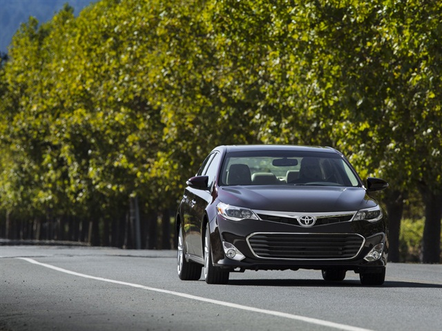 2014 Toyota Avalon XLE. Photo credit: Toyota