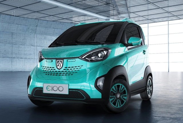 Photo of the Baojun E100 courtesy of GM.
