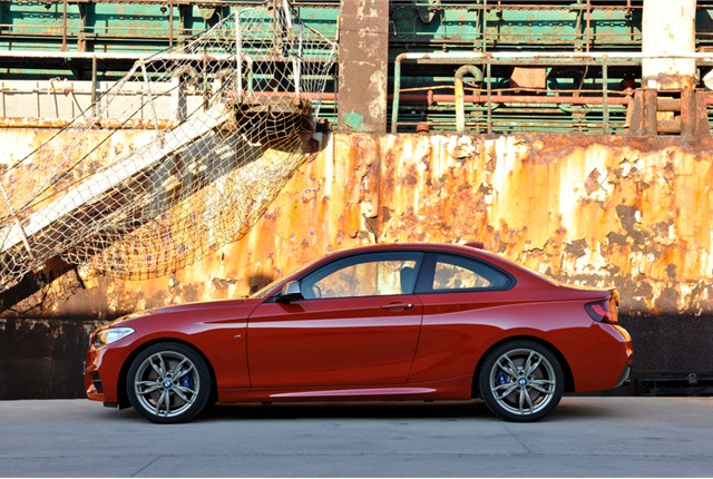 Photo of 2014 BMW 2 Series Coupe courtesy of BMW.