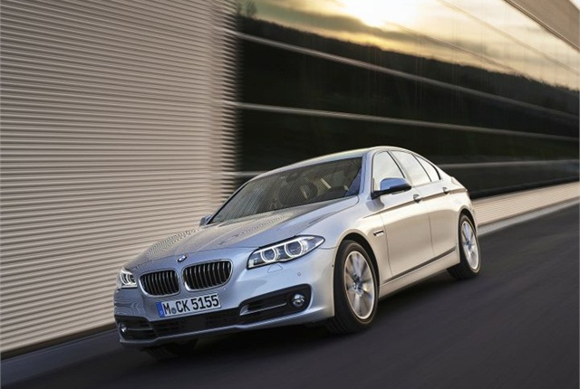 Photo of 518d sedan courtesy of BMW.