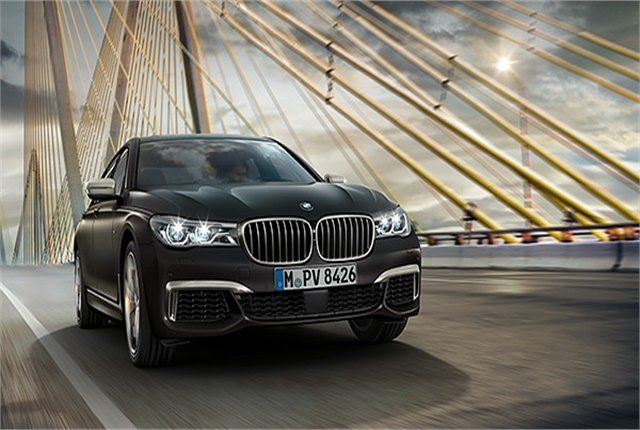 Photo of BMW M760Li xDrive sedan courtesy of BMW.