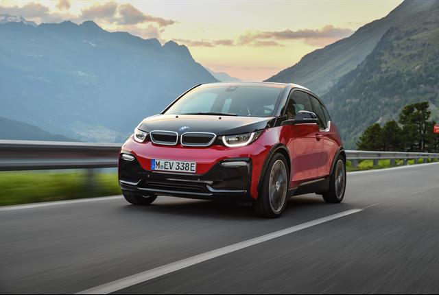 Photo of the i3 battery-electrichatchback courtesy of BMW.