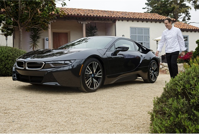 Photo of BMW i8 courtesy of BMW.
