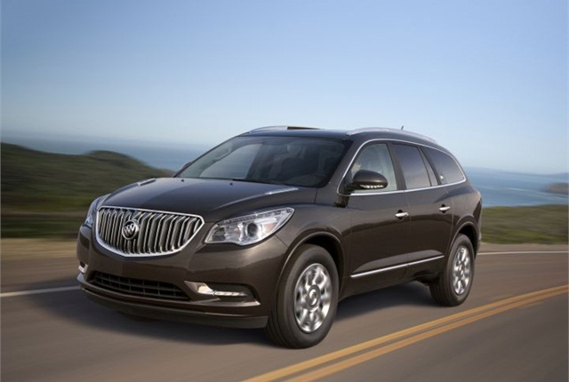 Photo of 2014 Buick Enclave courtesy of GM.