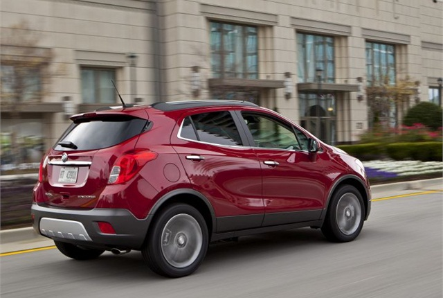 Photo of 2014 Buick Encore courtesy of General Motors.
