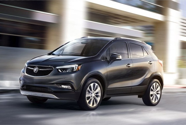 Photo of 2017 Encore courtesy of Buick.