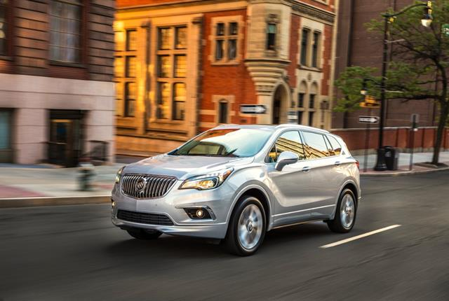 Photo of Buick Envision courtesy of Buick.