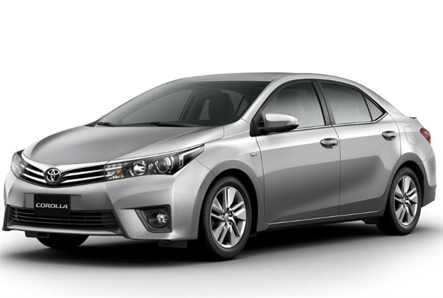 Photo of the Toyota Corolla courtesy of Toyota Venezuela.