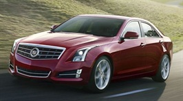 The Cadillac ATS will be available in China beginning Q4 2013