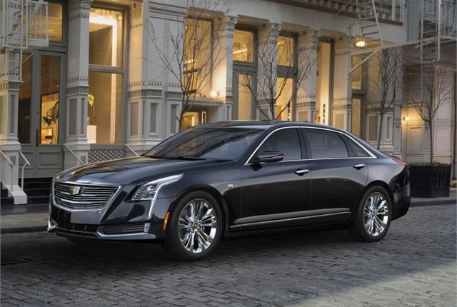 Photo of 2016 CT6 courtesy of Cadillac.