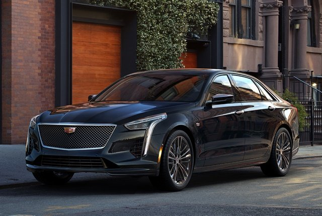 Photo of 2019 Cadillac CT6 V-Sport courtesy of GM.