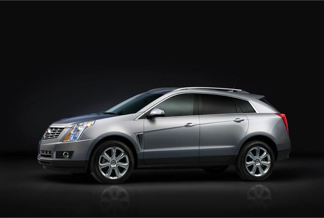 Photo of 2015 Cadillac SRX courtesy of Cadillac.