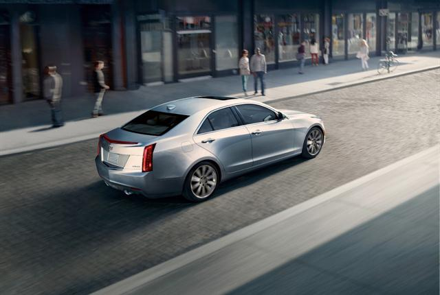 Photo of Cadillac ATS courtesy of General Motors.