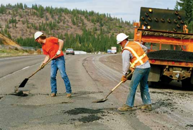 The state of California uses fuel taxes to pay for infrastructure improvement and repair – but could change that. Photo via CalTrans