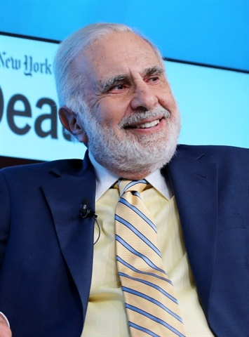 Carl Icahn, chairman of Icahn Enterprises. Image courtesy of Fortune