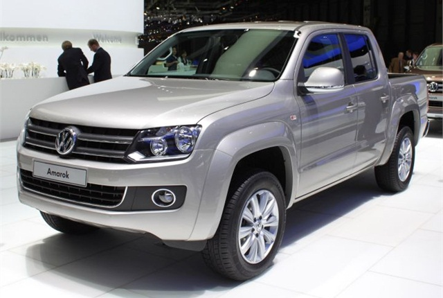 Photo pf VW Amarok via Wikimedia.