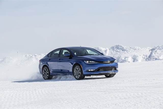 Photo of Chrysler 200 courtesy of FCA US.