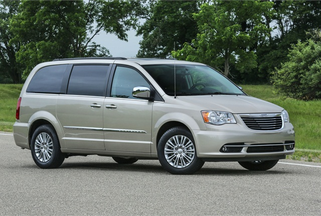 Photo of Chrysler Town & Country minivan courtesy of FCA US.