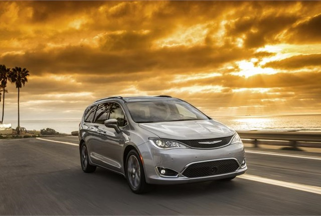 Photo of Chrysler Pacifica courtesy of FCA (Fiat Chrysler Automobiles).