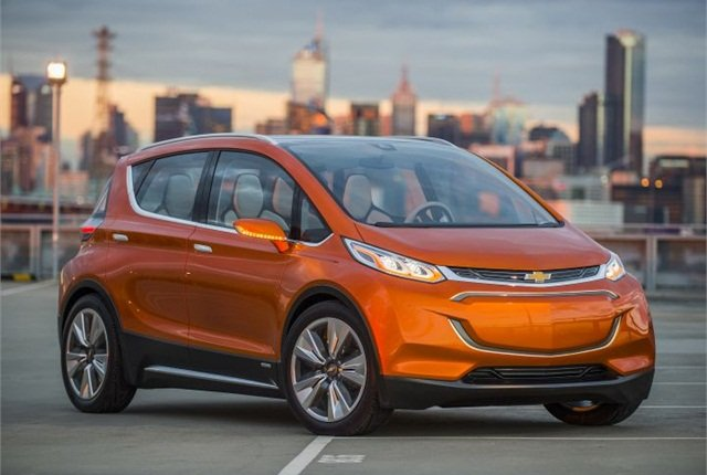 Photo of the Chevrolet Bolt EV concept courtesy of GM.