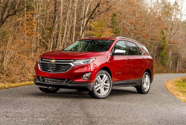 Photo of 2018 Equinox courtesy of Chevrolet.