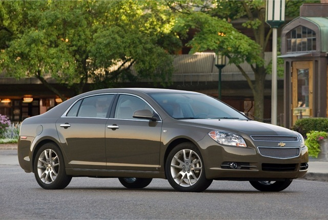 Photo of 2008 Chevrolet Malibu LTZ courtesy of General Motors.