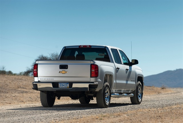 Photo of 2018 Chevrolet Silverado courtesy of GM.