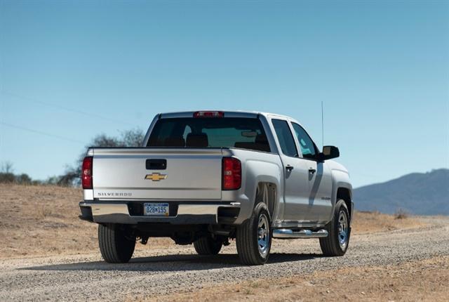 Photo of 2018 Chevrolet Silverado courtesy of GM.
