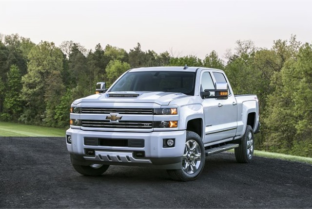 Photo of 2017 Chevrolet Silverado HD courtesy of GM.