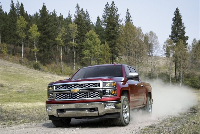 Photo of 2015 Chevrolet Silverado courtesy of GM.