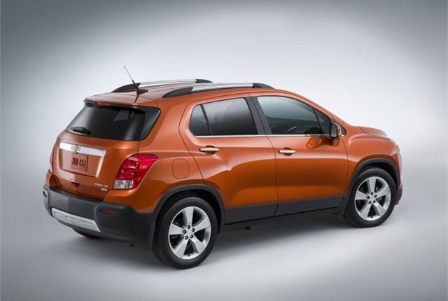 Photo of 2015 Chevrolet Trax courtesy of GM.