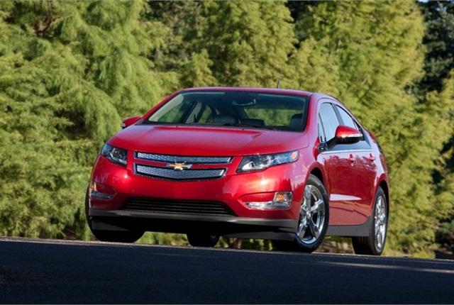 Photo of Chevrolet Volt courtesy of GM.