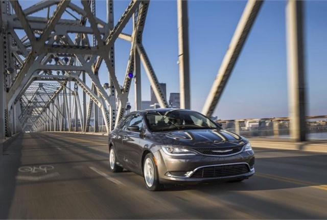 Photo of Chrysler 200 courtesy of FCA.