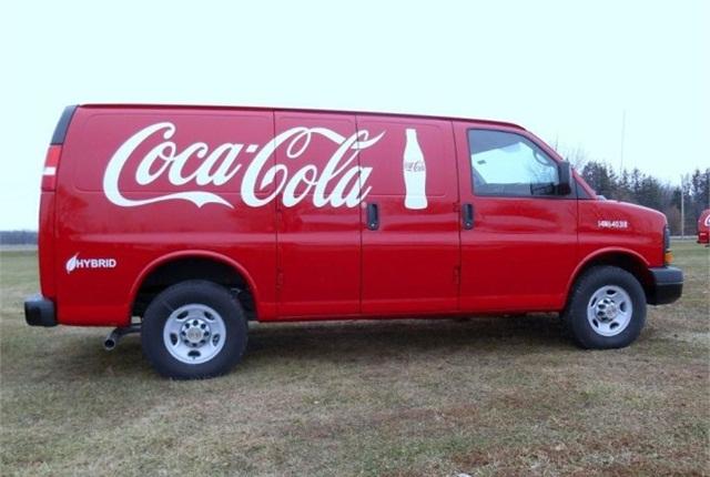 f2abd36786 Coca-Cola Adds 100 Hybrid Delivery Vans - Green Fleet - Automotive Fleet