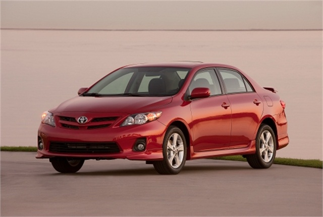 Photo of Toyota Corolla courtesy of Toyota.